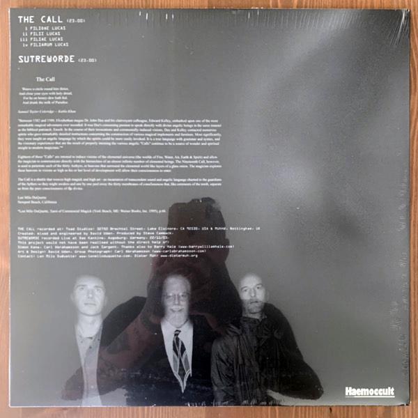 DIETER MÜH & LON MILO DUQUETTE The Call (Haemoccult - UK original) (SS/VG+) LP