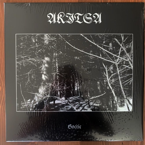 AKITSA Goétie (Hospital Productions - USA 2019 reissue) (NM) 2LP