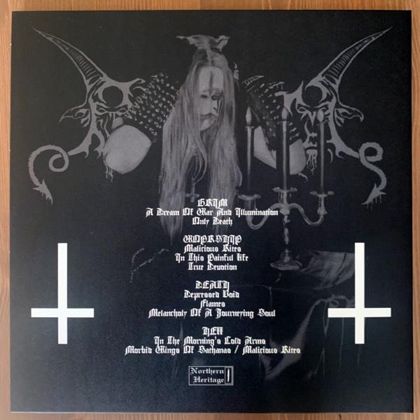 BAPTISM Grim Arts Of Melancholy (Northern Heritage - Finland 2020 reissue) (NM) 2LP