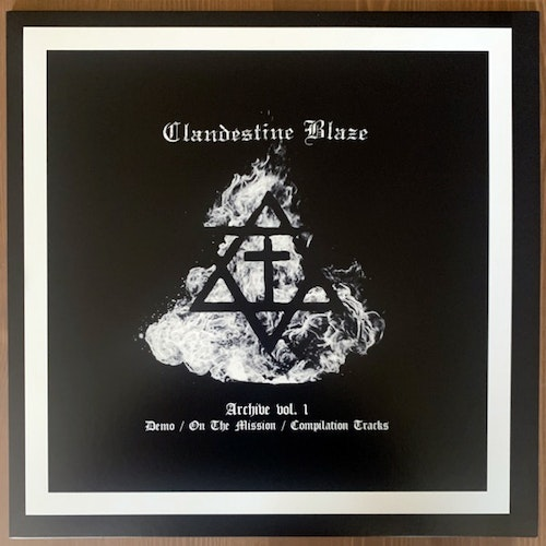 CLANDESTINE BLAZE Archive Vol. 1 (Northern Heritage - Finland 2017 reissue) (NM) LP