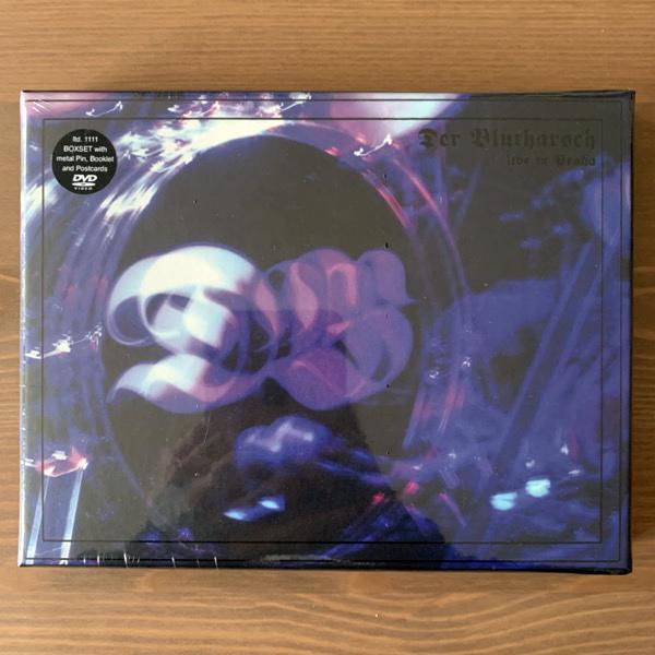 DER BLUTHARSCH Live In Praha (WKN - Austria original) (SS) DVD BOX