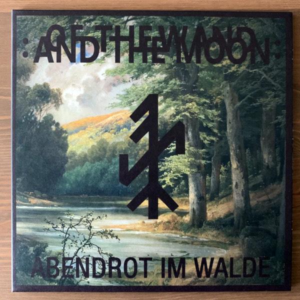 "OF THE WAND & THE MOON Abendrot Im Walde (Heiðrunar Myrkrunar - Germany original) (NM) 7"""