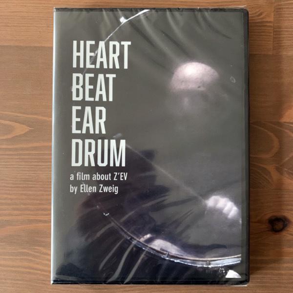 Z'EV Heart Beat Ear Drum - A film about Z'EV (Cold Spring - UK original) (SS) DVD