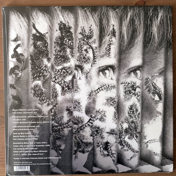 NURSE WITH WOUND & BLIND CAVE SALAMANDER Cabbalism (United Dirter - UK original) (SS) LP