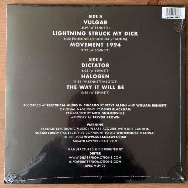 WHITEHOUSE Halogen (Dirter - UK reissue) (SS) LP