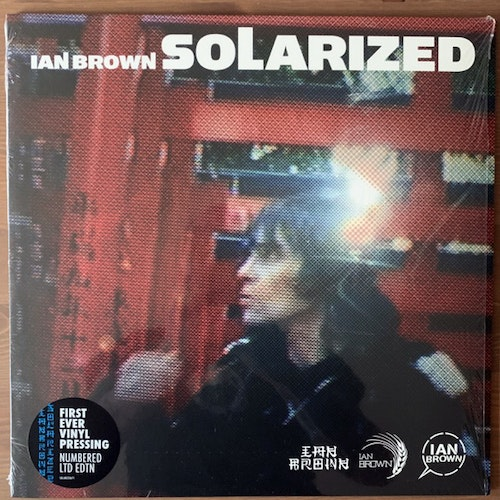 IAN BROWN Solarized (Fiction - UK reissue) (NM/EX) LP