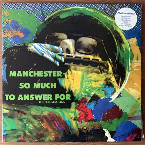 VARIOUS Manchester, So Much To Answer For - The Peel Sessions (Strange Fruit - UK original) (VG+) 2LP