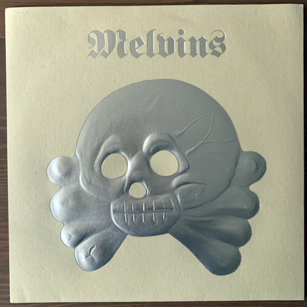 "MELVINS It's Shoved (Clear vinyl) (Amphetamine Reptile - USA original) (NM) 7"""