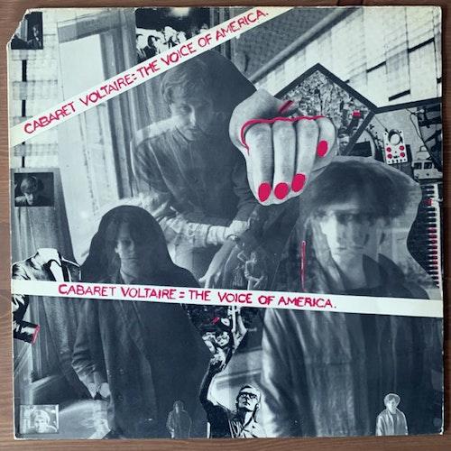 CABARET VOLTAIRE The Voice Of America (Rough Trade - UK original) (VG+) LP