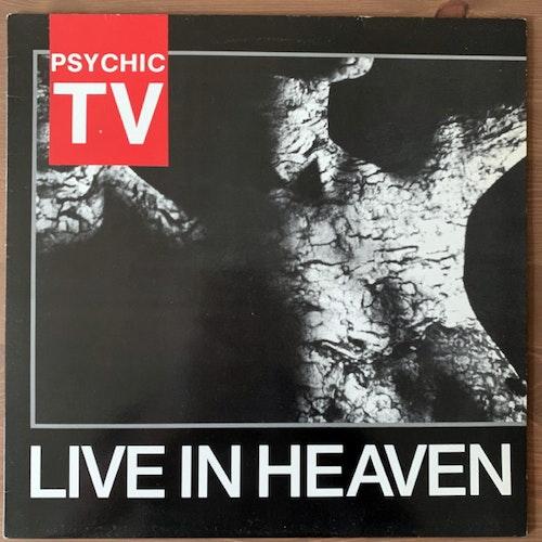PSYCHIC TV Live In Heaven (Temple - UK original) (VG+) LP