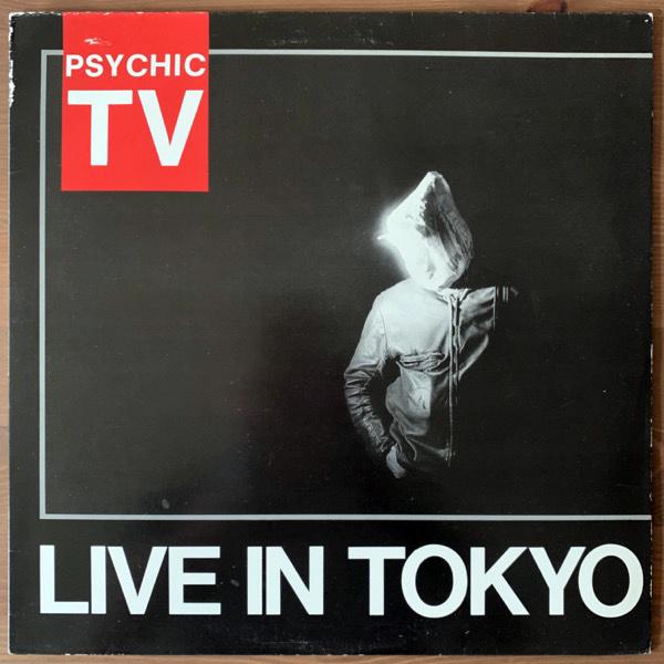 PSYCHIC TV Live In Tokyo (Temple - UK original) (VG) LP