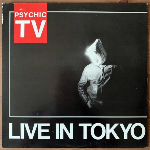 PSYCHIC TV Live In Tokyo (Temple - UK original) (VG) LP