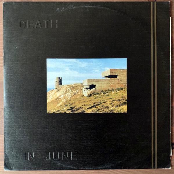 "DEATH IN JUNE Heaven Street (New European - UK original) (VG+) 12"""
