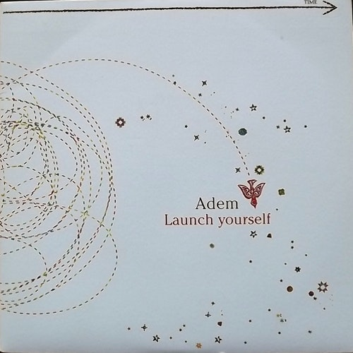 "ADEM Launch Yourself (Domino - UK original) (EX) 7"""