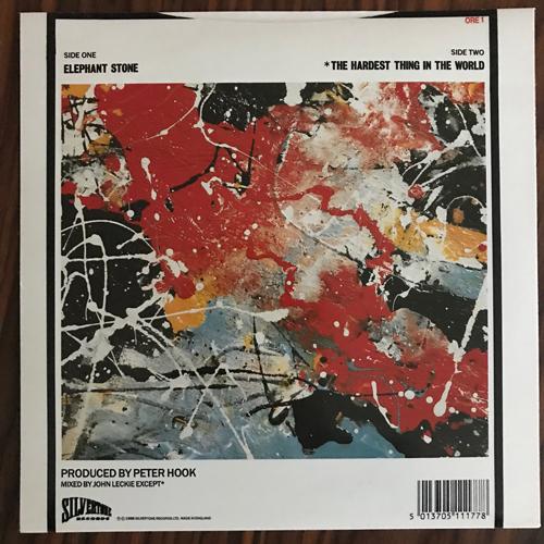 """STONE ROSES, the Elephant Stone (Silvertone - UK 1990 reissue) (EX) 7"""""""