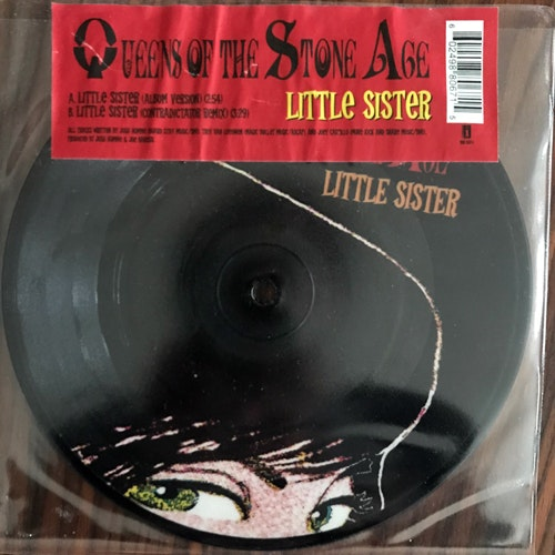 QUEENS OF THE STONE AGE Little Sister (Interscope - UK original) (VG+) PIC 7""