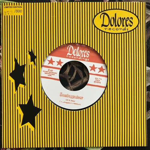 "SAMBASSADEUR Ice & Snow (Dolores - Sweden original) (NM) 7"""