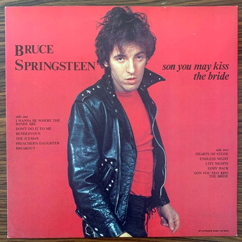 BRUCE SPRINGSTEEN Son You May Kiss The Bride (Basil - UK unofficial release) (EX) LP