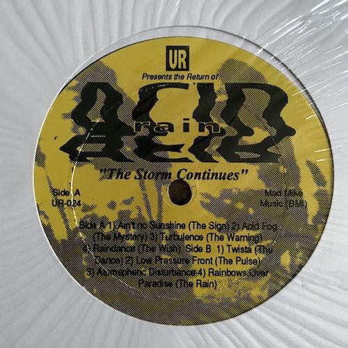 "UNDERGROUND RESISTANCE The Return Of Acid Rain - The Storm Continues (Underground Resistance - USA original) (EX) 12"" EP"