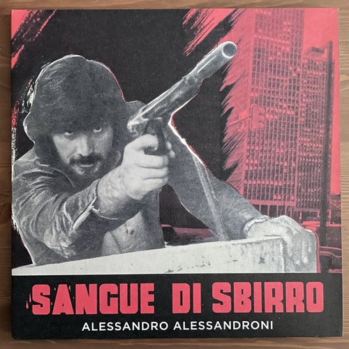 SOUNDTRACK Alessandro Alessandroni – Sangue Di Sbirro (Four Flies - Italy original) (NM/EX) LP