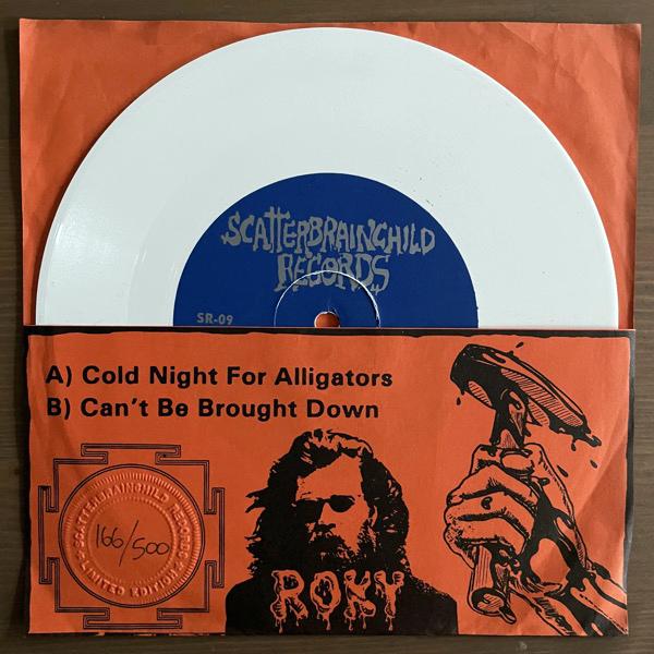 "ROKY ERICKSON The Haunt Of Roky Erickson (White vinyl) (Scatterbrainchild - USA original) (VG+) 7"""