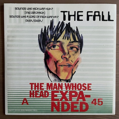 FALL, the The Man Whose Head Expanded (Earmark - Italy 2002 reissue) (EX/NM) 7""