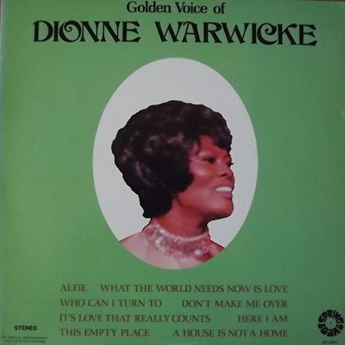 DIONNE WARWICKE Golden Voice Of Dionne Warwicke (Springboard - USA original) (VG+/EX) LP