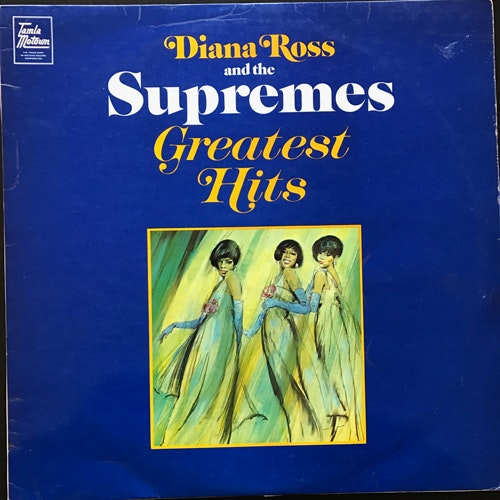 DIANA ROSS AND THE SUPREMES Greatest Hits (Tamla Motown - UK original) (VG) LP