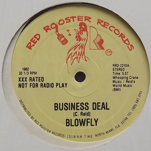 BLOWFLY Business Deal (Red Rooster - USA original) (EX) 12""