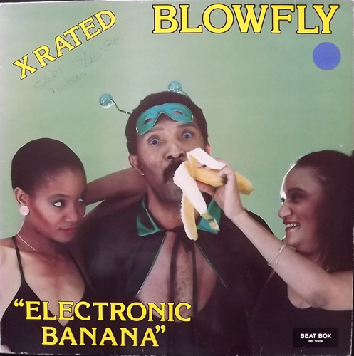 BLOWFLY Electronic Banana (Beat Box - Sweden original) (VG/VG+) LP