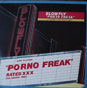 BLOWFLY Porno Freak (Weird World - USA original) (VG+/EX) LP