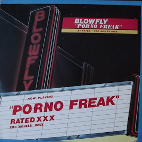 BLOWFLY Porno Freak (Weird World - USA original) (VG+/EX) LP