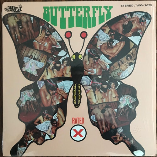 BLOWFLY Butterfly (Weird World - USA reissue) (EX) LP
