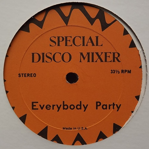 VARIOUS Everybody Party/Disco Brake (Special Disco Mixer - USA original) (VG+) 12""