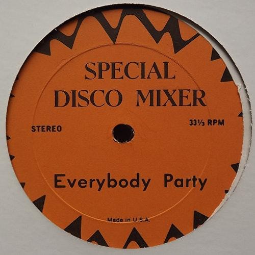 """VARIOUS Everybody Party/Disco Brake (Special Disco Mixer - USA original) (VG+) 12"""""""