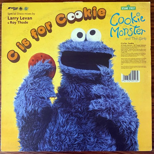 COOKIE MONSTER & THE GIRLS / POINTER SISTERS C Is For Cookie/Pinball Number Count (Ninja Tune - UK original) (VG/EX) 12""