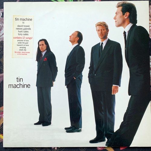 TIN MACHINE Tin Machine (EMI - Europe original) (VG+) LP