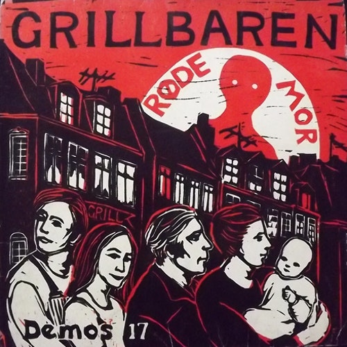 RØDE MOR Grillbaren (Demos - Denmark 2nd press) (VG/VG+) LP