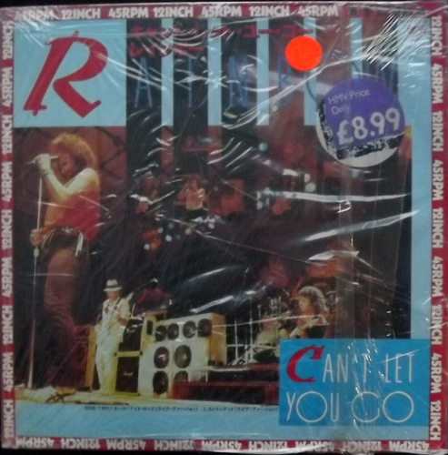 """RAINBOW Can't Let You Go (Polydor - Japan original) (NM) 12"""""""