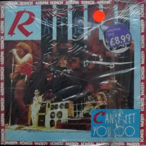 RAINBOW Can't Let You Go (Polydor - Japan original) (NM) 12""