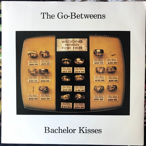 GO-BETWEENS, the Bachelor Kisses (Sire - UK original) (EX) 7""