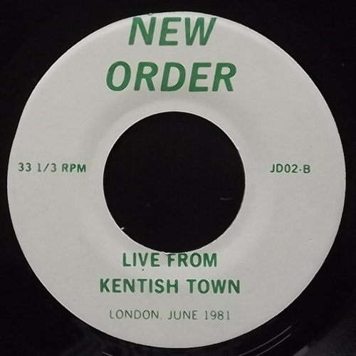 NEW ORDER Live From Kentish Town (No label - USA unofficial repress) (VG+) 7""