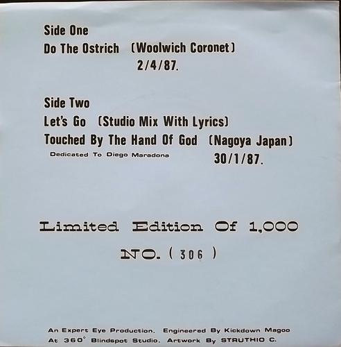 """NEW ORDER Ostrich-a-go-go (Expert Eye - UK unofficial release) (VG+) 7"""""""