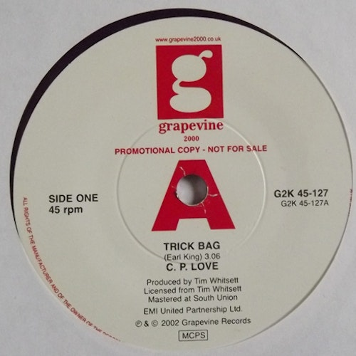C.P. LOVE Trick Bag (Promo) (Grapevine 2000 - UK reissue) (EX) 7""