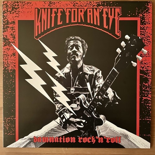 KNIFE FOR AN EYE Damnation Rock´n´Roll (Clear vinyl) (Tvåtakt - Sweden 2nd press) (NM) LP