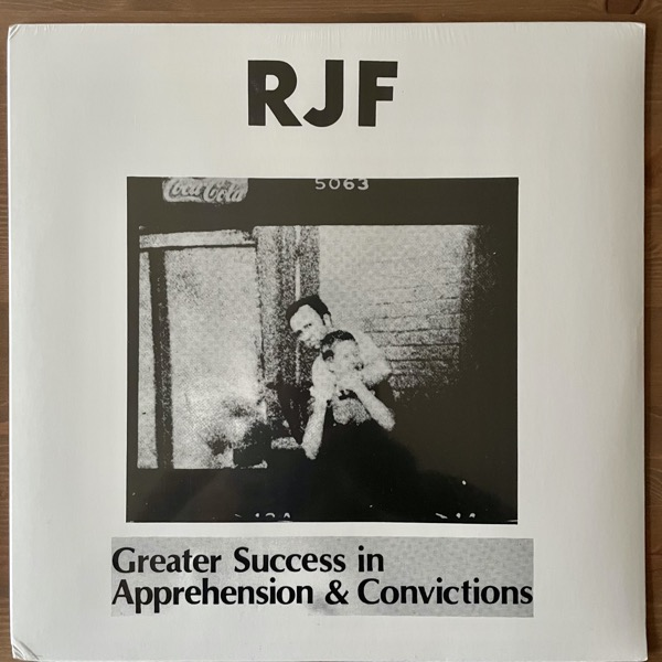 RJF Greater Success In Apprehension & Convictions (Harbinger Sound - UK reissue) (SS/VG+) LP
