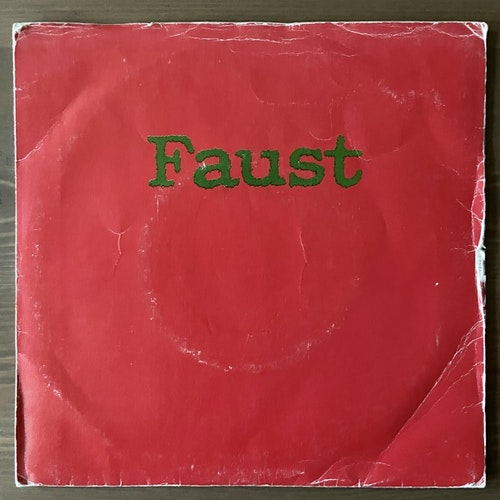 FAUST Extracts From Faust Party 3 (Recommended - UK repress) (G/VG+) 7""