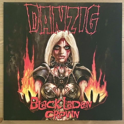 DANZIG Black Laden Crown (AFM - Germany original) (NM/EX) LP