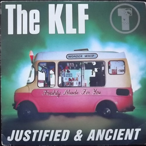 KLF, the Justified & Ancient (KLF Communications - UK original) (VG/VG+) 7""