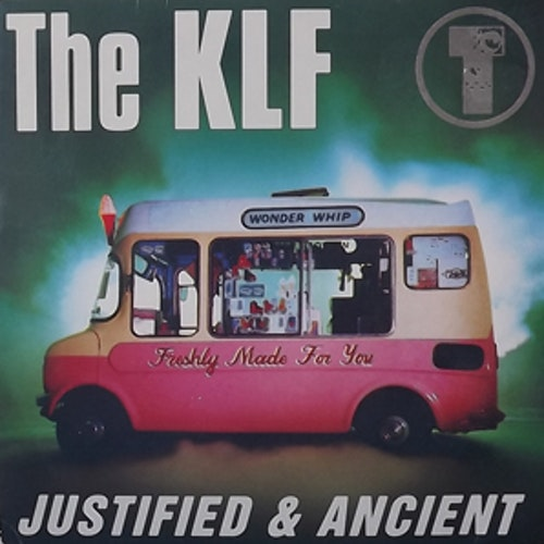 KLF, the Justified & Ancient (KLF Communications - UK original) (VG+/EX) 7""